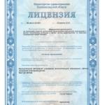 лицензия на медобслуживание.