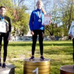 2 место в беге на 100 с барьерами - Валерия Рудникова